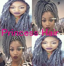 Grey Marley Braid | 2015 new stocks factory wholesale cheap price 16 folded length 100