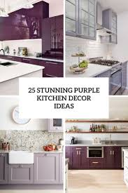 grey kitchen decor ideas 25 stunning purple kitchen decor ideas digsdigs