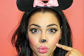 Guys Halloween Makeup by Halloween Makeup Minnie Mouse The Style Brunch