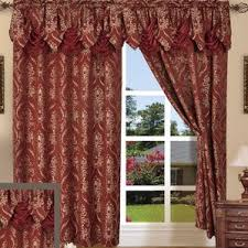 Gold And Blue Curtains Burgundy And Gold Curtains Wayfair