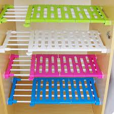 Kitchen Cabinet Inserts Storage Aliexpress Buy Kitchen Organizer Wardrobe Storage Layered Cabinet