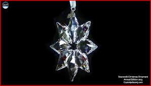swarovski ornament annual edition 2013