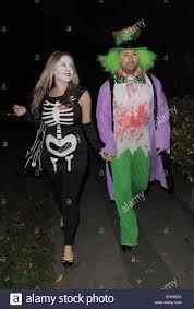 Mad Hatter Halloween Costume Jonathan Ross U0027 Halloween Party Arrivals David Mitchell Attends