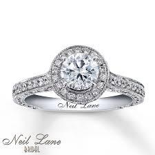 neil engagement neil engagement ring 1 3 4 ct tw diamonds 14k white gold