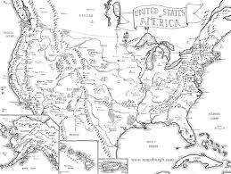 Full Map Of The United States by Fantasy Map Of The United States