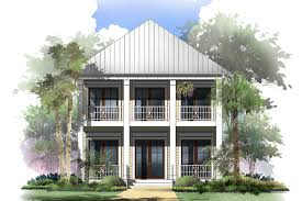 coastal cottage with 2 master suites 51716hz architectural