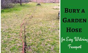 Can You Bury Animals In Your Backyard How To Bury A Garden Hose Underground
