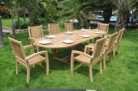 6 seater patio furniture set teak patio furniture set