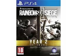 siege jeux jeux vidéo tom clancy s rainbow six siege gold 2 playstation 4 ps4