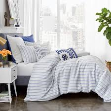 amalfi stripe duvet cover set u2013 under the canopy