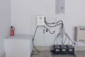 early days inverter install offgridcabin