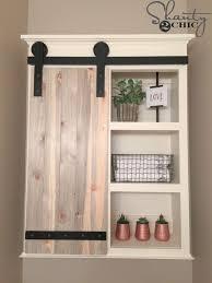 how to make cabinet doors even diy sliding barn door bathroom cabinet sliding barn door