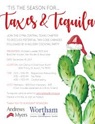 christmas cocktail party invitations holiday cocktail party u0026 tax panel central texas