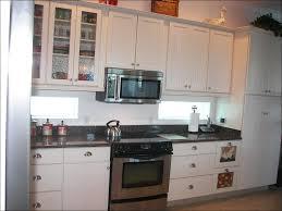 kitchen backsplash for dark cabinets and dark countertops oak
