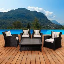 Wicker Patio Furniture Houston by Hanover Patio Conversation Sets Outdoor Lounge Furniture The