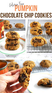 thanksgiving chocolate chip cookies gluten free pumpkin chocolate chip cookies 24 carrot life