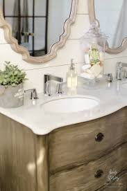 farm style bathroom sink