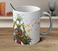 zenyatta mug coffee mug watercolor mug color changing mug