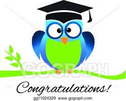 graduation owl eps vector congrats owl graduation logo stock clipart