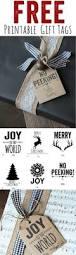 best 25 christmas gift tags printable ideas on pinterest