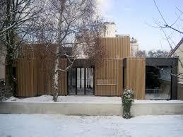 wooden frame house a samuel delmas archdaily