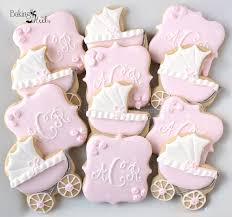 baby shower cookies baby carriage baby shower cookies monogram cookies it s