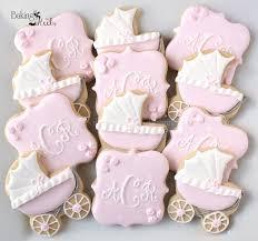 baby shower cookies baby carriage baby shower cookies monogram cookies it s