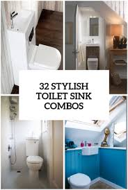 Small Toilets For Small Bathrooms by 32 Stylish Toilet Sink Combos For Small Bathrooms Digsdigs