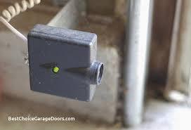 garage door sensor yellow light awesome garage door sensor yellow light and green light best