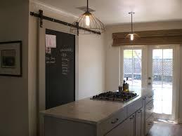 Chalkboard Backsplash by 99 Done Cottage Kitchen
