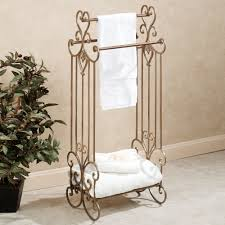 Towel Decoration For Bathroom by Towel Bar Ideas Best 25 Bathroom Towel Bars Ideas Only On