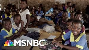msnbc lawrence o donnell desks on president donald trump and the africa that lawrence knows the