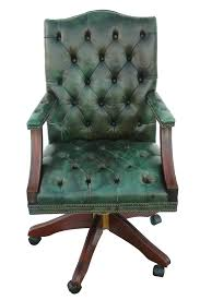 Ikea Office Chair Green Distressed Leather Office Chair 2658