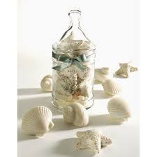 seashell soaps luxury seashell shaped soap glass jar set