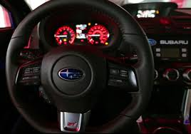 subaru wrx custom interior the all new record setting 2015 subaru wrx sti on the isle of man