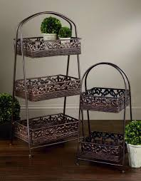 fruit basket stand rattan basket display stands tripar international inc