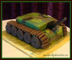 here is how to build a custom army tank cake enjoy birthday