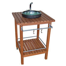 evier cuisine exterieure meuble évier cuisine extérieure aménagement patio
