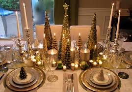 Gold Table Setting by 17 Gold Christmas Table Centerpieces Carehouse Info