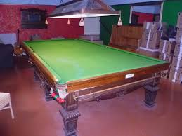 full size snooker table thurston solid english oak full size snooker table for sale at just