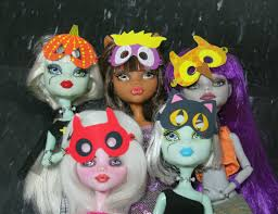 mymonstercrush monster high halloween masks