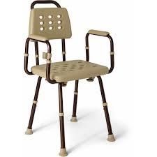 medline elements shower chair with microban walmart com