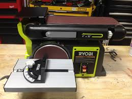 Ryobi Bench Grinder Price Ryobi Bench Sander Bd4601 Tools In Action