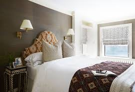 Master Bedroom Wall Coverings Brooklyn Wallpaper Turns Drab Triplex Into Stylish Knockout In