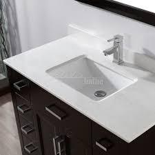 studio bathe kelly 42 inch espresso finish bathroom vanity solid