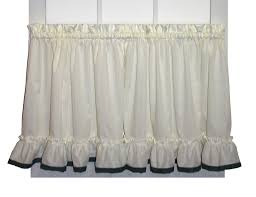 ruffled priscilla curtains u0026 country ruffled curtains window toppers