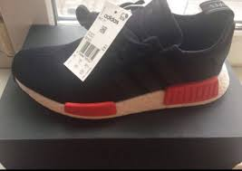 Adidas Nmd Runner Womens by Adidas Nmd R1 Runner Black Red Bb1969 Womens Sizes 6us 1108998