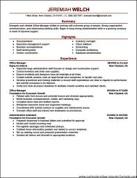 office manager resume template essays on empirical modeling of the price influenced consumer office