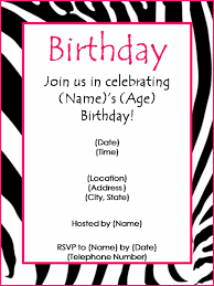 birthday invitation email template all the best invitation in 2017