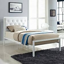 Twin Bed Base by Twin Bed Frame Storage Scarlett White Twin Metal Bed With Bed